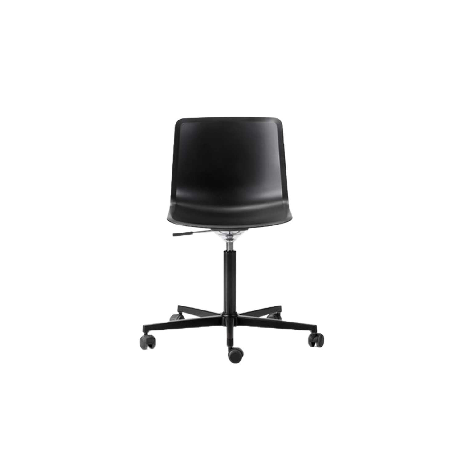 Pato Office 5 Point Swivel Base Chair - Pato Office Chair is fitted with a 5-point star swivel base on casters. The frame has a swivel feature with height adjustable gaslift and a tilt function for comfortable task seating. The chair can be tuned from basic to exclusive with optional upholstery.