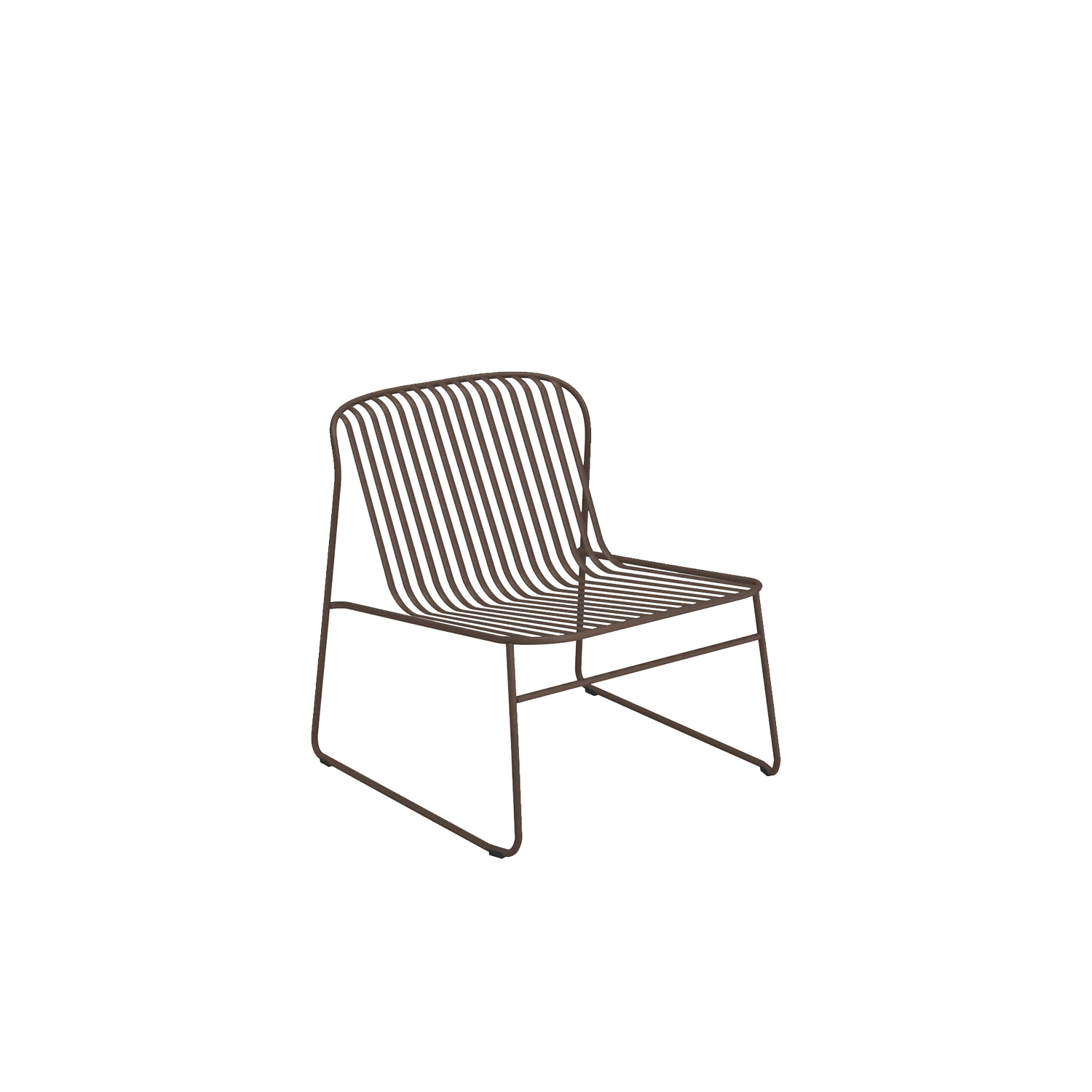 Riviera Lounge Chair - Set of 2 - The Riviera collection is minimal and sophisticated, yet, extraordinarily comfortable. The collection stands out for its sinuous lines the retro look of the materials and modern finish techniques used. The collection includes The seat, armchair, footstool and a lounge chair.  | Matter of Stuff