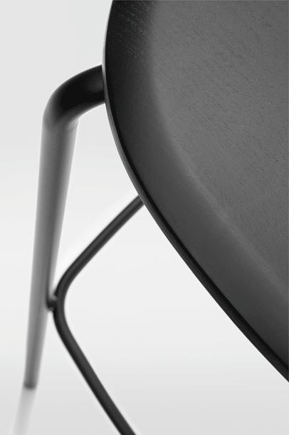 Okito Ply Backrest Stool