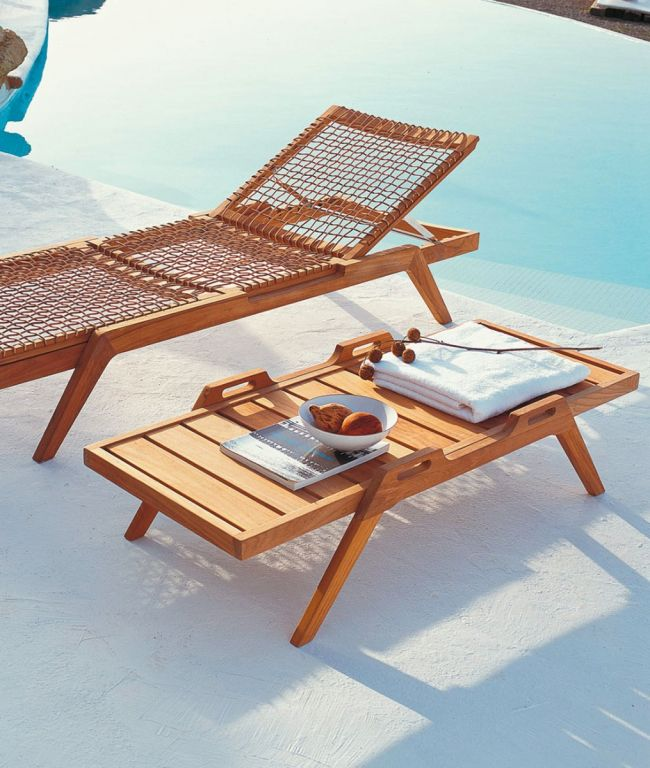 Synthesis Stackable Rectangular Coffee Table With Handles