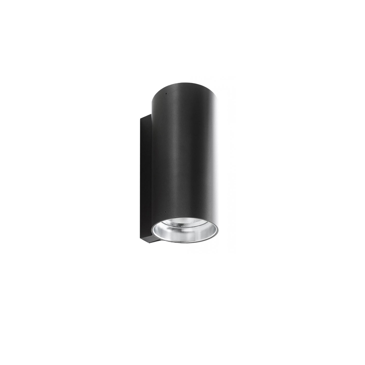E04 Wall Lamp -  Wall fixtures for indoor use. The cylindrical body connects smoothly to architectural surfaces. The optics permit a wide range of lighting solutions for multiple contexts.  Size and finishes are varies please enquire for more information | Matter of Stuff