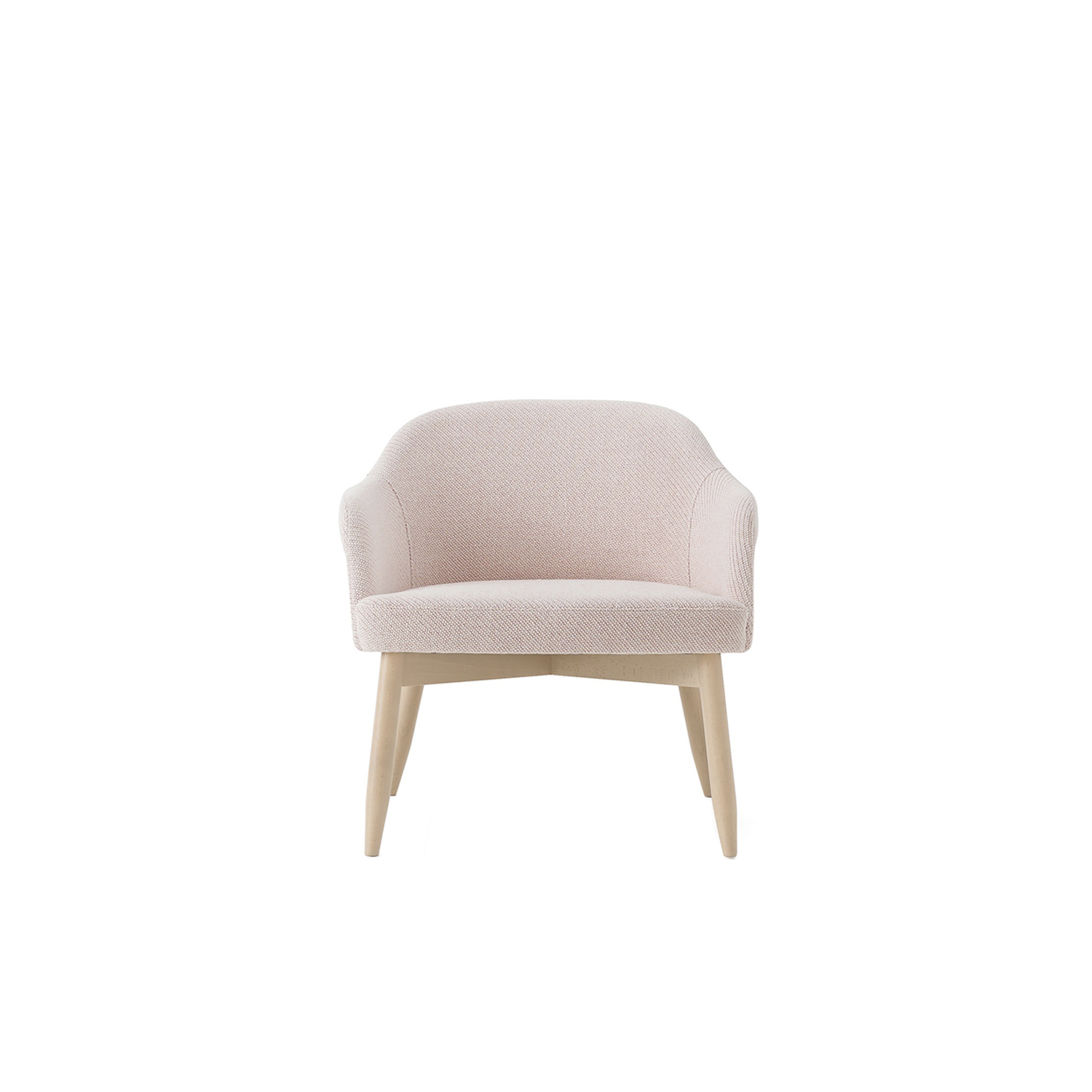 Spy Lounge Armchair - Lounge chair and Spy High in solid beech or lacquered steel, Spy Wingback in solid beech, all three models with upholstered plywood shells. Chair comes with standard felt floor pads.  | Matter of Stuff