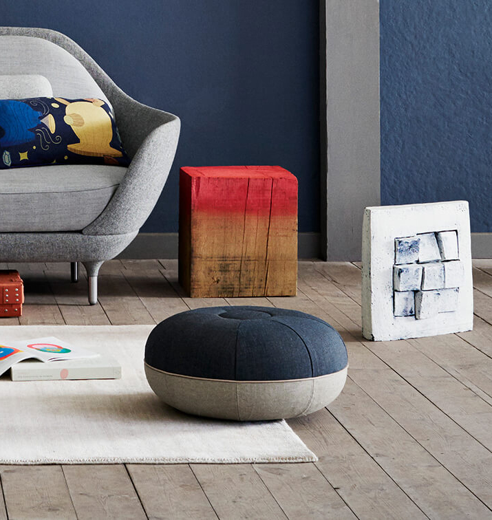 Small Pouf  - <p>The ever firm Pouf is essential when complete relaxation is on the agenda, or when you need that extra seating in the living room. </p>