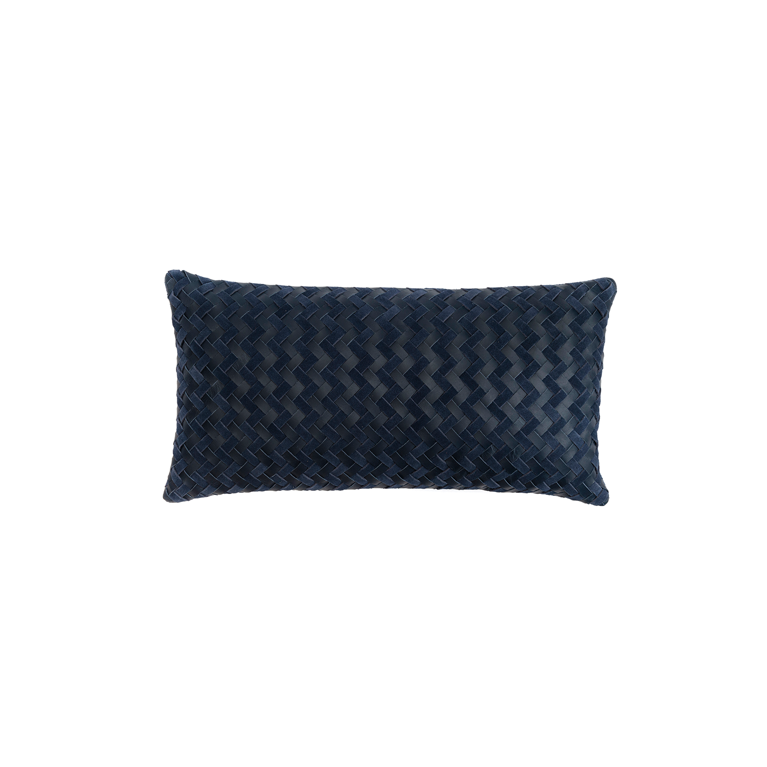 Maxi Aspen Woven Leather Cushion Small - The Maxi Aspen Woven Leather Cushion is designed to complement an ambient with a natural and sophisticated feeling. This cushion style is available in pleated leather or pleated suede leather. Elisa Atheniense woven handmade leather cushions are specially manufactured in Brazil using an exclusive treated leather that brings the soft feel touch to every single piece.   The front panel is handwoven in leather and the back panel is 100% Pes, made in Brazil.  The inner cushion is available in Hollow Fibre and European Duck Feathers, made in the UK.  Please enquire for more information and see colour chart for reference.   | Matter of Stuff