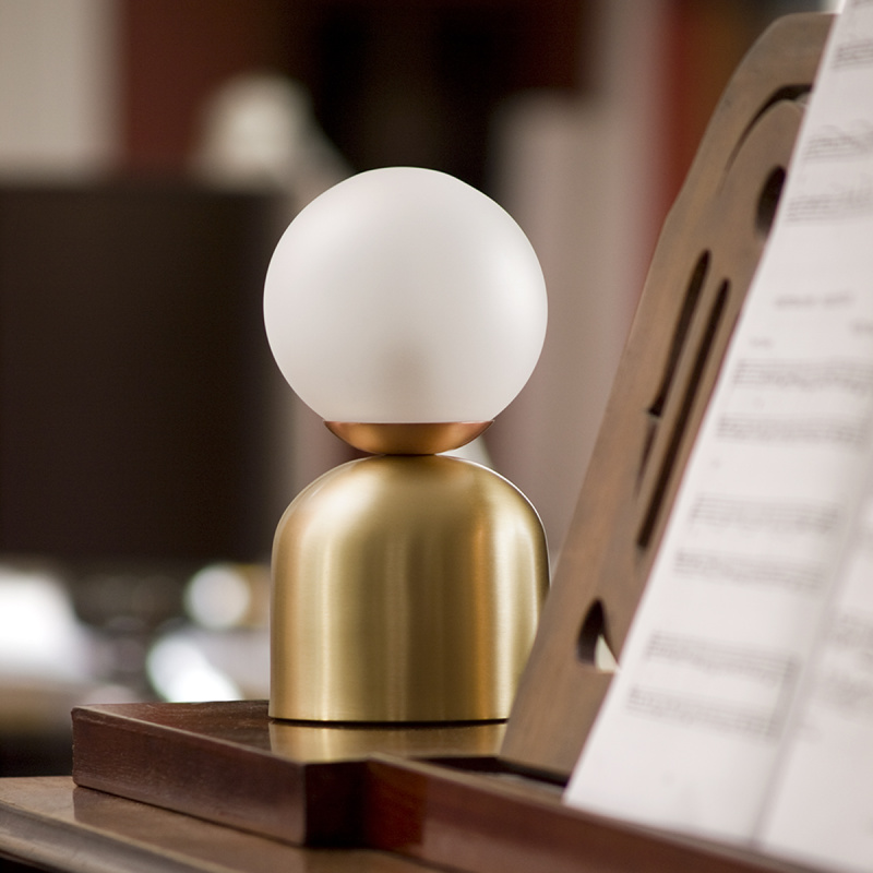 Bon Bon Brass Light - <p>A nostalgic design echoing sounds of the past, the Intueri Light Turbaya Table/Wall Lamp contemporizes the look of a gramophone. The Turbaya has a shape like a gramophone and it can remind others about the old days when this was the only thing that we could listen music on. Turbaya is a multi-function light. Wall light, table light, two functions in one product.</p>  | Matter of Stuff