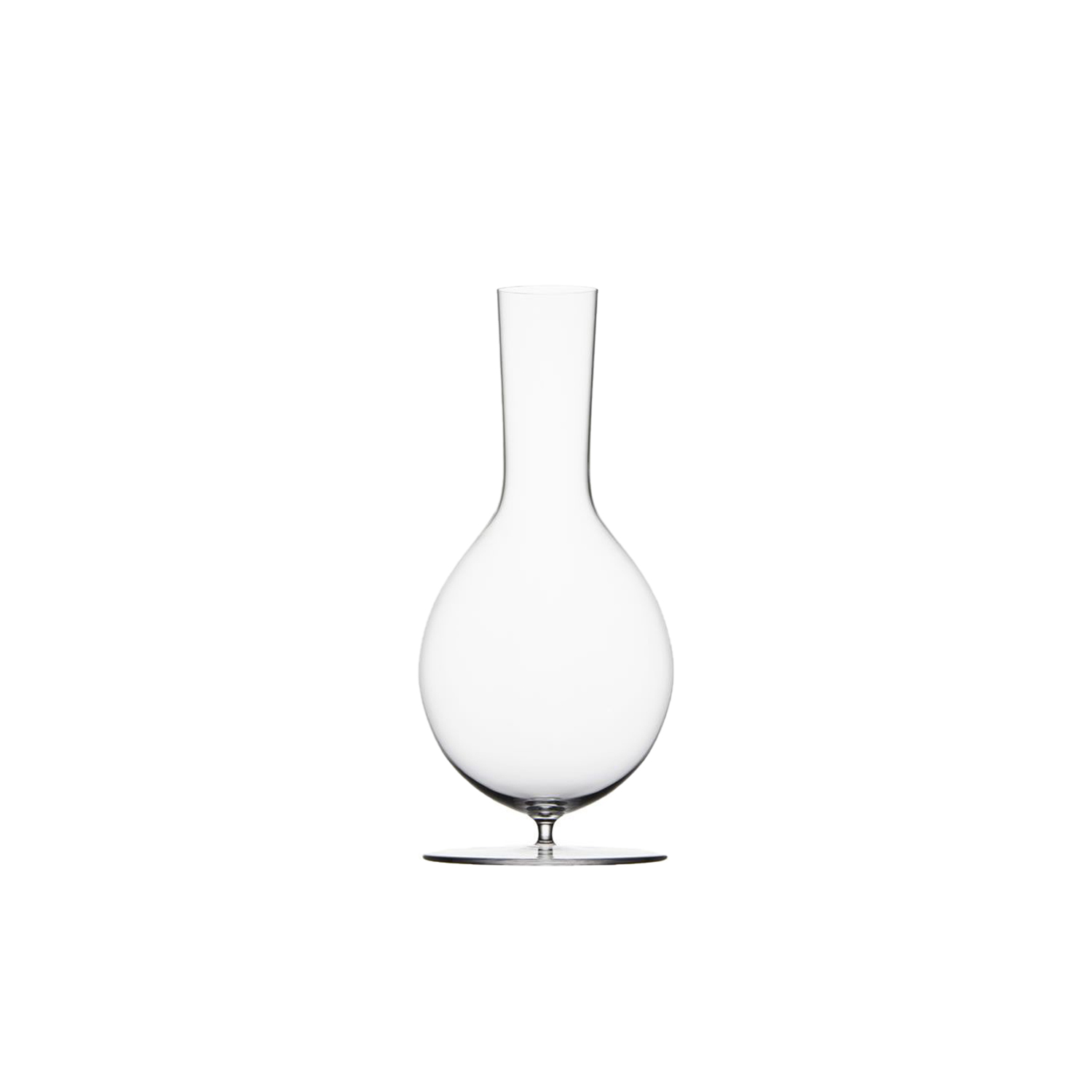 Drinking Set No.280 Wiener Gemischter Satz Wine Decanter without Stopper - POLKA a young and sucessful design studio from Austria wanted to create a simple Lobmeyr series to be used for personal everyday rituals. Each glass radiates elegance and grace of mouth-blown Lobmeyr crystal and each of the small series has its own story. So do the oenological correct wine glasses or the traditional champagne cup, standing for ebullient pleasure. | Matter of Stuff