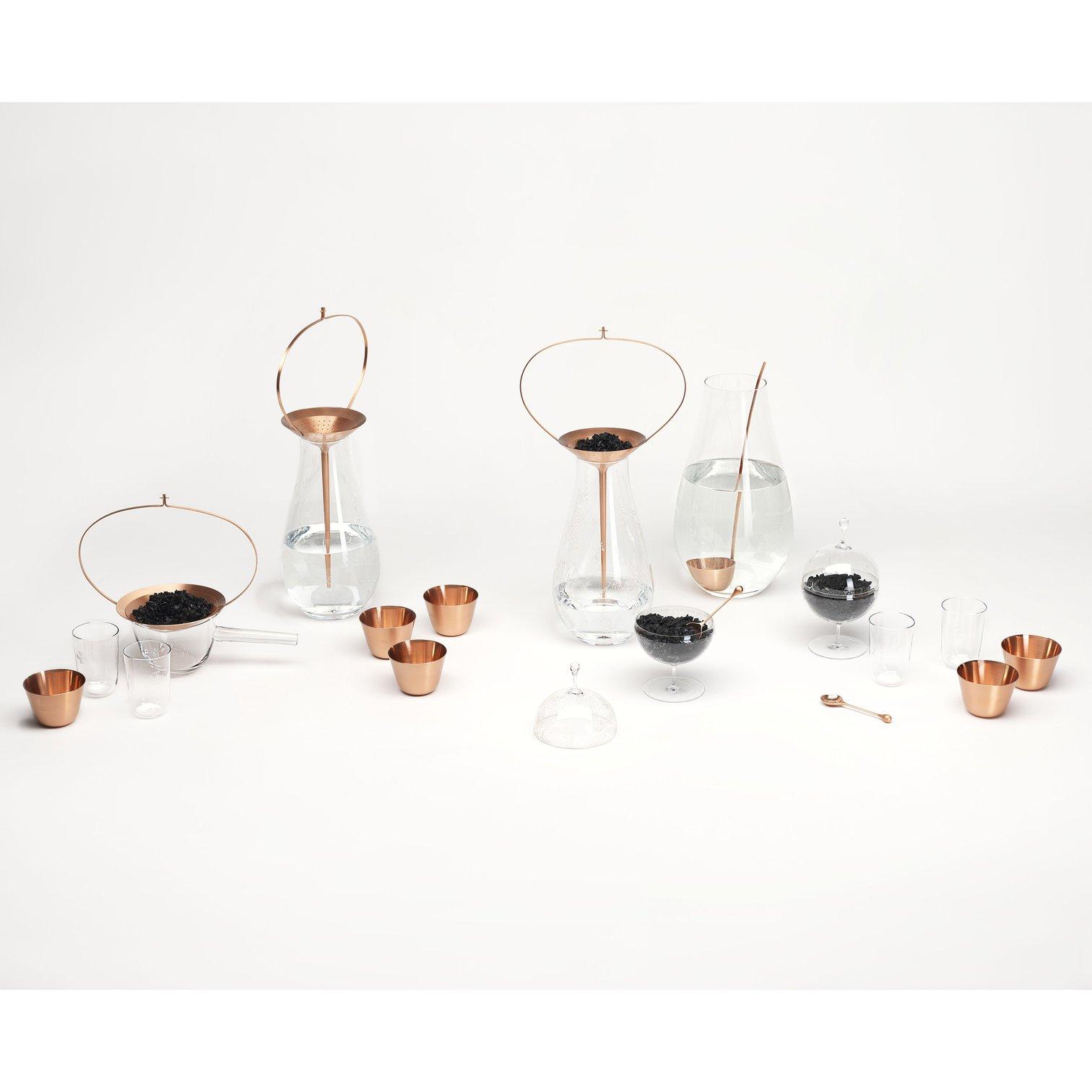 Still Copper Cup - Set of 6