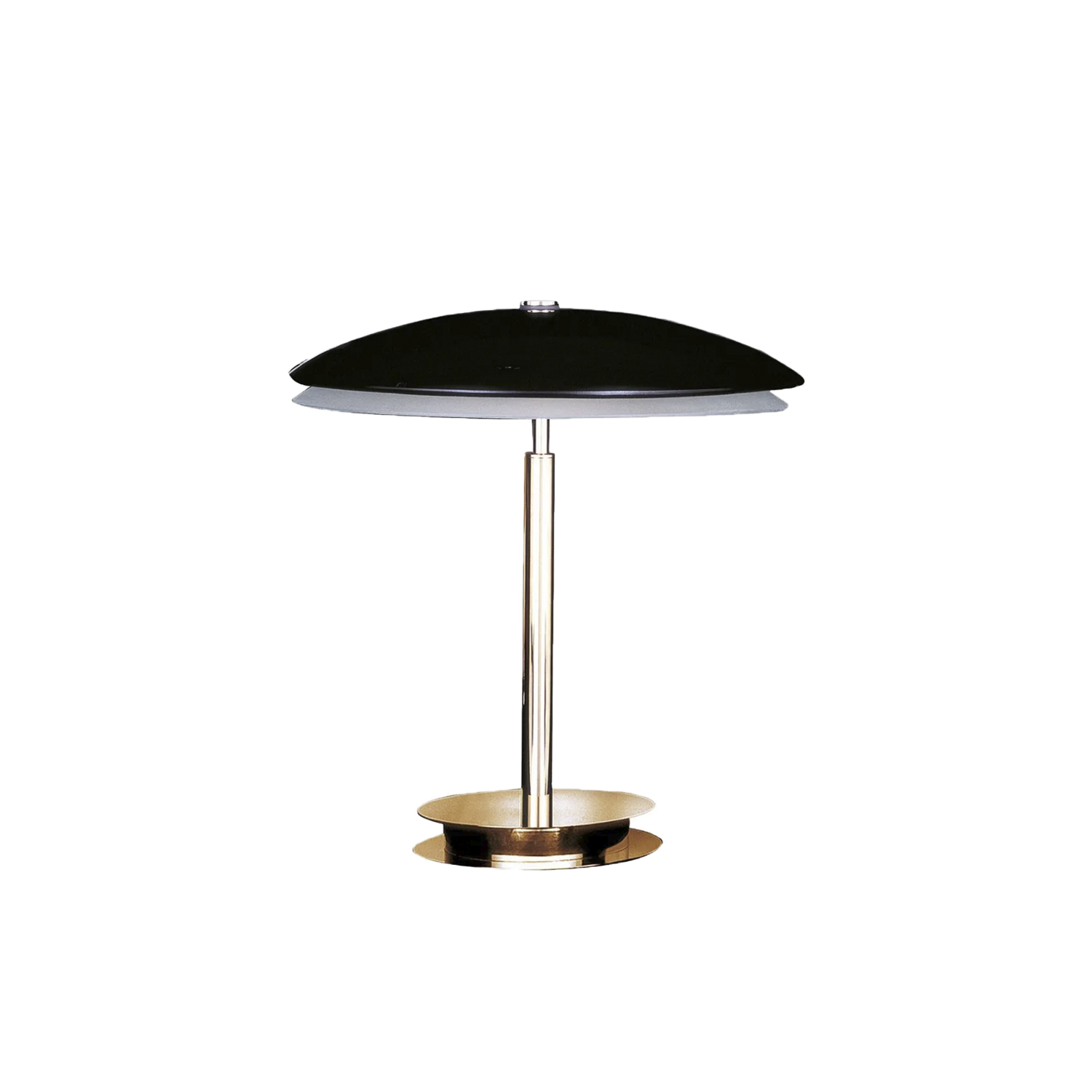 Bis-Tris Table Lamp - Designed in 1954, the Bis and Tris table lamps maintain their classic yet contemporary shape intact. Designed for a refined home environment, they also find their perfect location on a work table or on an elegant console. | Matter of Stuff
