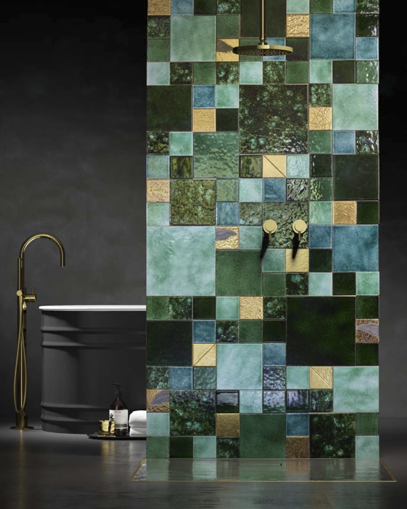 Square Tile Green -  | Matter of Stuff