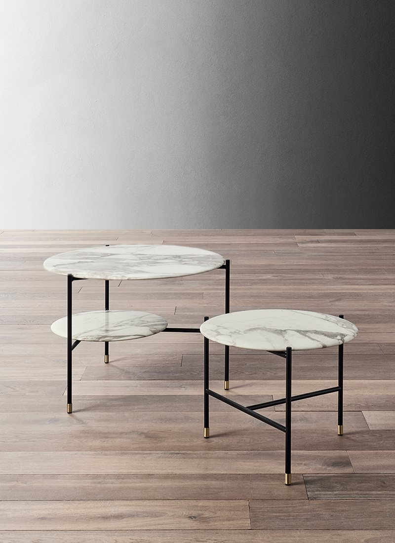 Adrian Round 50R Low Table