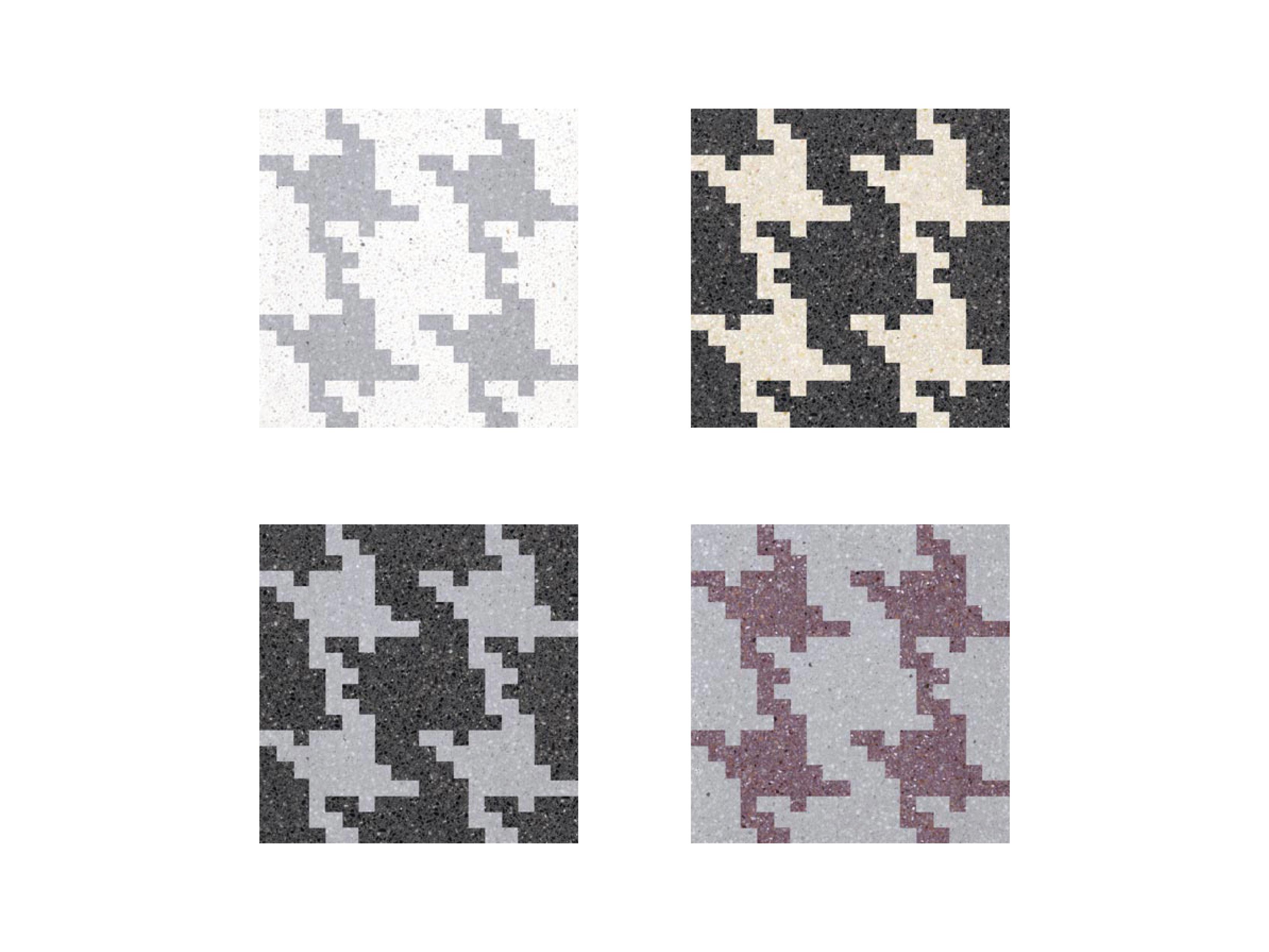 Invaders XL Decorative Terrazzo Tiles