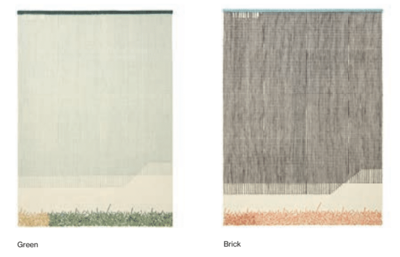 Backstitch Calm Rug - <p>Learning about embroidery – GAN's incredible craft and strength – Raw-Edges found themselves drawn to the aesthetics on its reverse side. The 'backstitch' has an unintentional hidden beauty to it, that one might so easily miss. Their aim was to understand the language of this 'random' backstitch and develop it into their rug collection. Focusing on colour combinations, the rhythm of patterns, the thickness of the yarns, tactility and craftsmanship, they also emphasise handmade work overwork on the loom and the handmade embroideries. The manufacturing technique for this rug is Kilim and Embroidery and due to the handmade nature of the GAN product, slight variations in size, colour, finish are normal. </p>  | Matter of Stuff