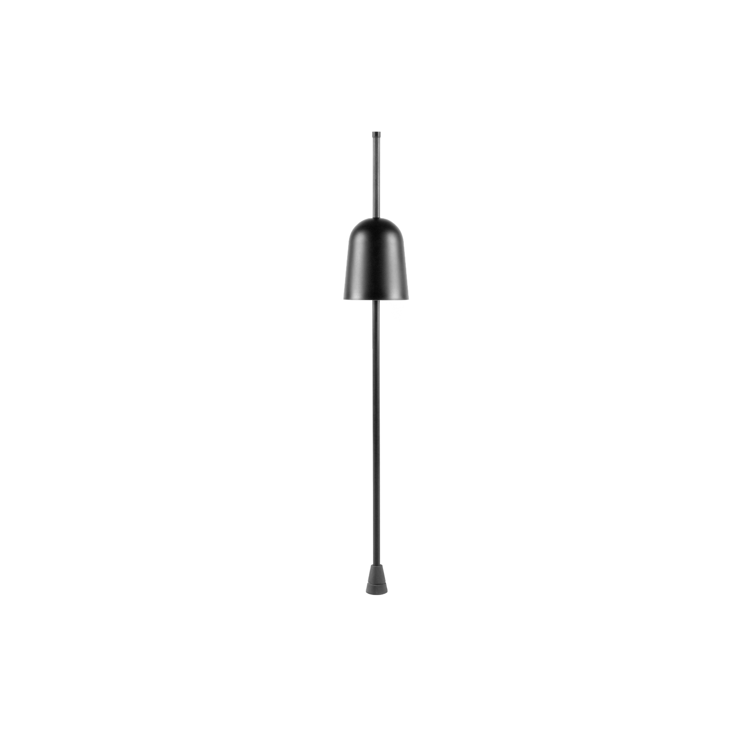 Ascent Table Lamp -  Intimate, conceptual, Ascent provides infinite shadings of light intensity, thanks to the very precise axial dimmer controlled by electronics mounted inside the shade. Circuits on the stem send input to a microprocessor that reacts to the vertical movement, adjusting light flow. | Matter of Stuff