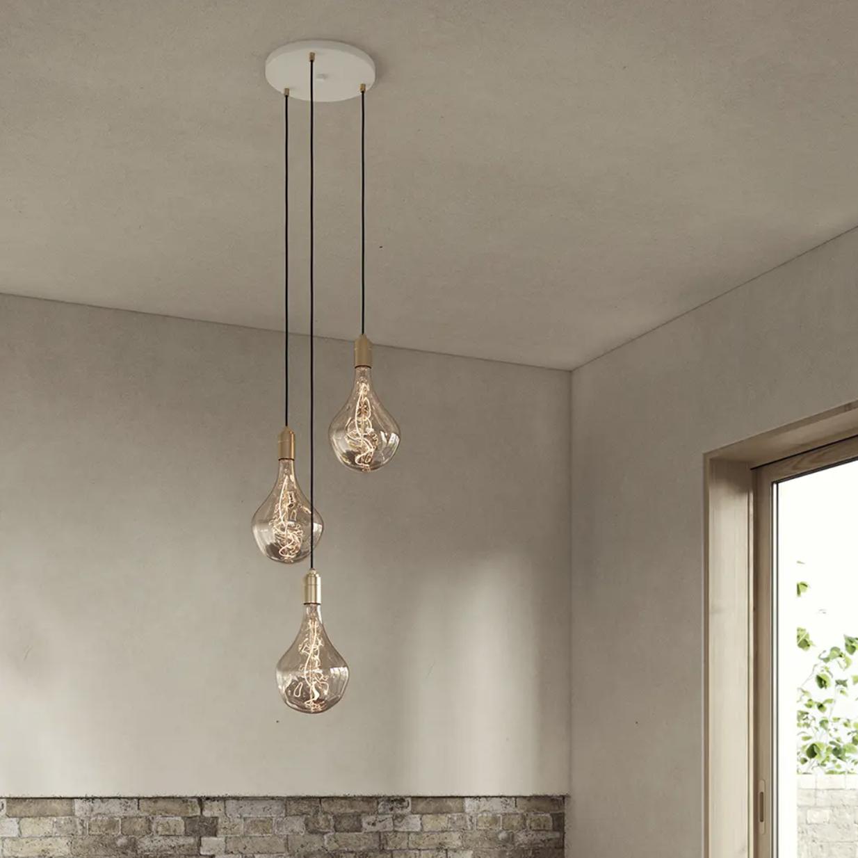 Triple Pendant With Voronoi II