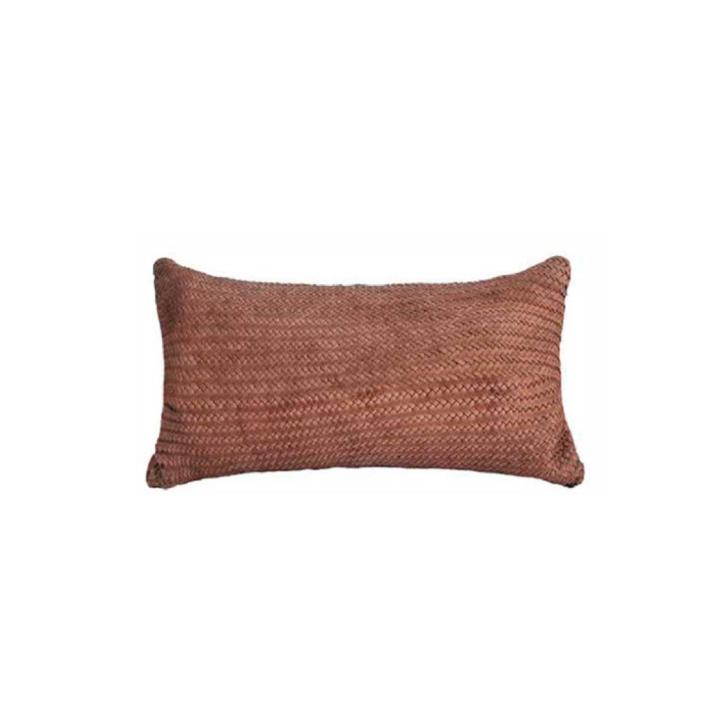 Aspen Croco Woven Leather Cushion Small - The Aspen Croco Woven Leather Cushion is designed to complement an ambient with a natural and sophisticated feeling. This cushion style is available in pleated leather or pleated suede leather. Elisa Atheniense woven handmade leather cushions are specially manufactured in Brazil using an exclusive treated leather that brings the soft feel touch to every single piece.   The front panel is handwoven in leather and the back panel is 100% Pes, made in Brazil.  The inner cushion is available in Hollow Fibre and European Duck Feathers, made in the UK.  Please enquire for more information and see colour chart for reference.   | Matter of Stuff