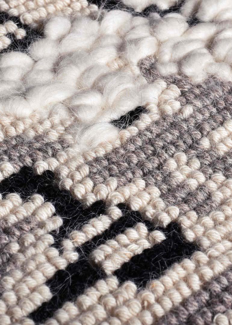 Giardino Fiorito - <p>Full Pibiones technique White colour 80% wool, 20% cotton</p>  | Matter of Stuff