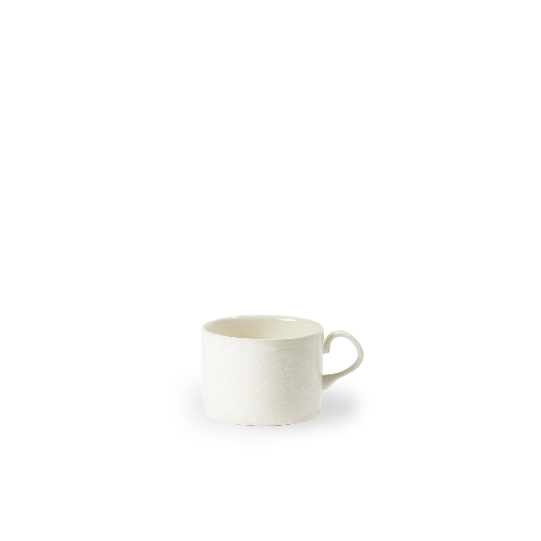 Sleet Mug - Sleet by 1882 Ltd. is a collection of uniquely hand glazed tableware – a true testament to the skill of the Potter. So many factors make up the pattern of the glaze; from the heat of the piece to the weight of the glaze. The Potter works each piece individually making each item unique. Made in England. | Matter of Stuff