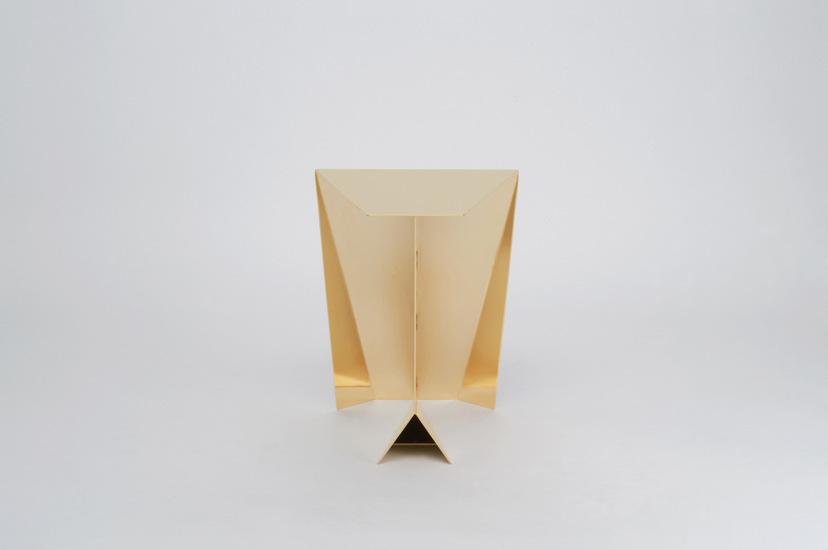 Perseus Side Table - Gold Limited Edition