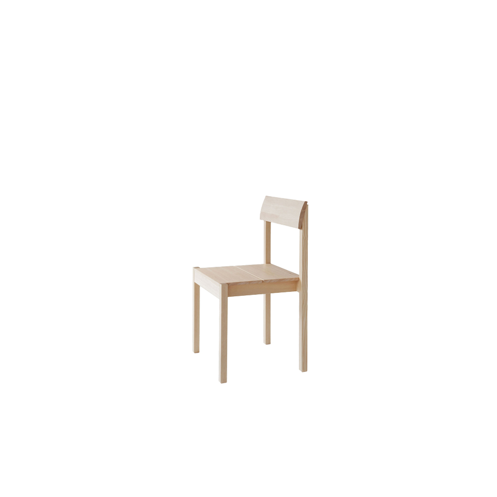 Arkitecture KVT7  - The Arkitecture KVT7 chair, designed by Kari Virtanen, is characterised by simple, rectangular lines and an upright profile. The chair's hand-finished backrest is enlivened by beautiful grain patterns. Arkitecture KV7 is available in oiled birch, ash or oak, with or without upholstery. Arkitecture KV7 chairs are treated with natural surface treatment materials, natural wood oil mixture.  The Arkitecture chairs are easy to place in rows in seminar or sacral spaces and other public environments. The chairs are stackable(4pc), and they can be connected with a linking device. Their timeless, refined design goes well together with products from the Arkitecture collection as well as with other types of furniture.  For upholstery options and wood species, please refer to the upholstery/wood species catalogue. Customer's own fabric is available for an individual price upon request. | Matter of Stuff