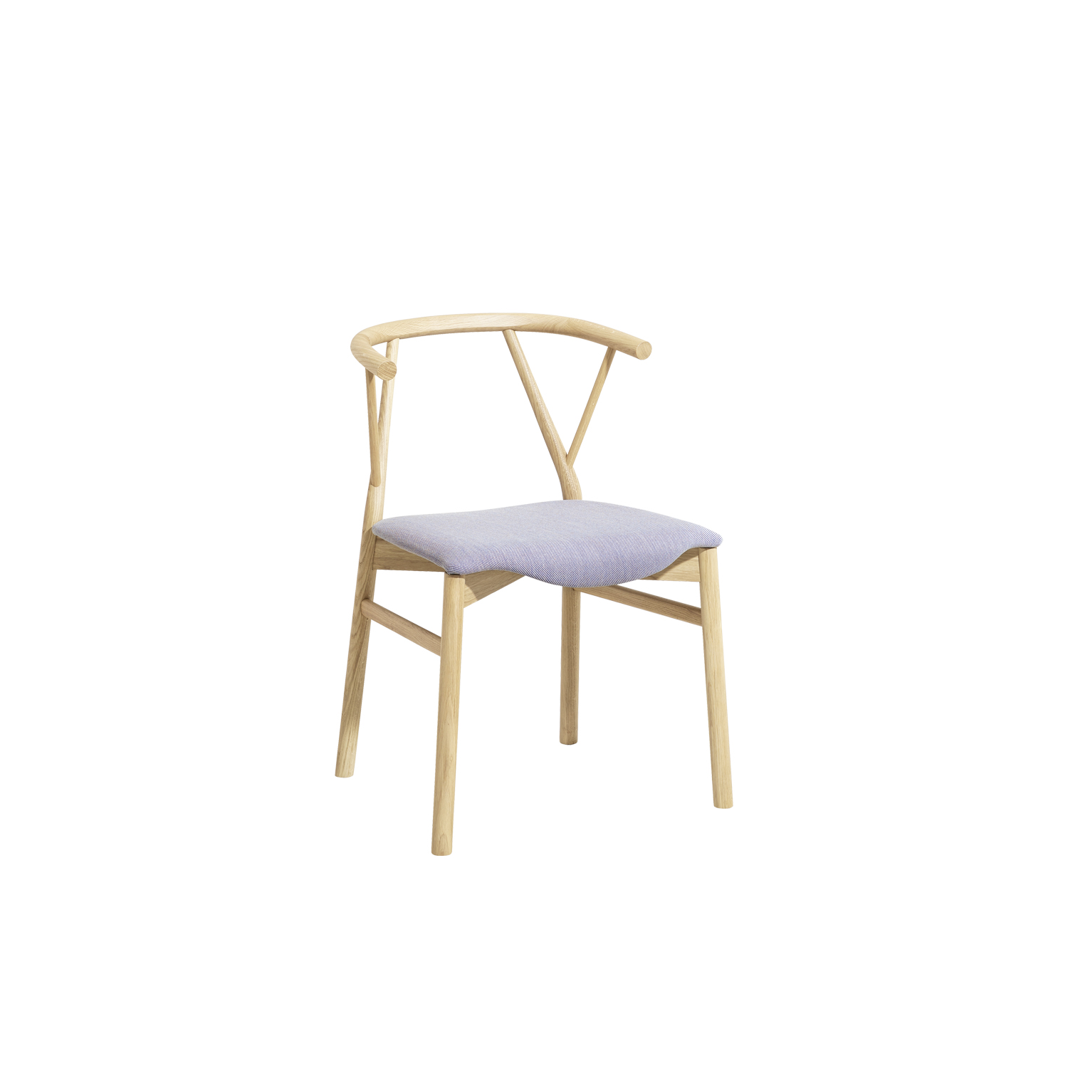 Valerie Chair - The chair is made in bended wood. It represents the essence of the sitting archetype, due to the used materials and to the form. Doesn't want to impress, just to perform in the better way the primary function: to accommodate. The chair develops the contrast between the essential structure and the wooden seat: the first devoted to the support and the second, to the comfort. The chair has a solid wood structure, available in the listed wooden finishes, stained aniline or lacquered. Structure available with or without seat-cushion, upholstered in the listed fabrics.