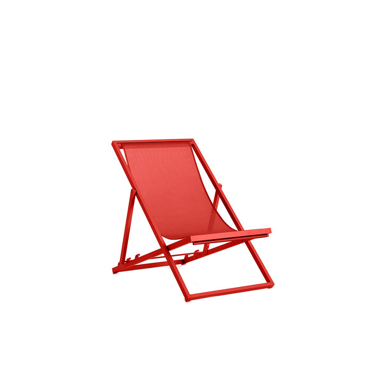Picnic Deckchair - Picnic is an improved version of the traditional folding garden deckchair. With a lighter and more hard-wearing design making it easier to carry to the beach or the park, Picnic can also be left outside permanently in all weather conditions. It's the ideal companion for enjoying a day out in the open air, plus it can be used at home both indoors and outdoors as it's foldable and very easy to carry around.
